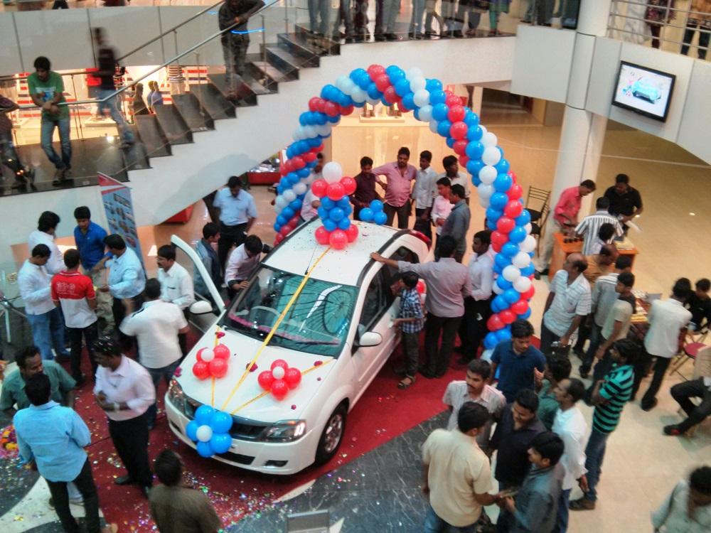 Mahindra Verito Vibe Promotion Event @ Coastal City Center, Bhimavaram - Events & Shopping in Bhimavaram