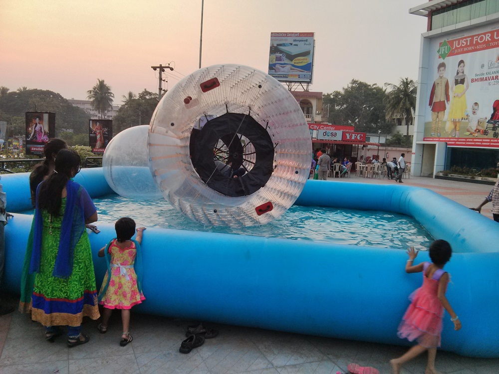 Water Jorbing Event @ Coastal City Center, Bhimavaram - Events & Shopping in Bhimavaram