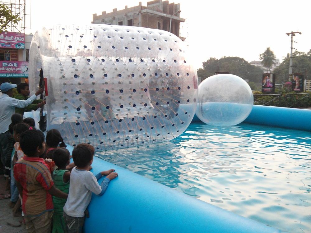 Water Jorbing Event @ Coastal City Center, Bhimavaram - Events & Shopping in Bhimavaram