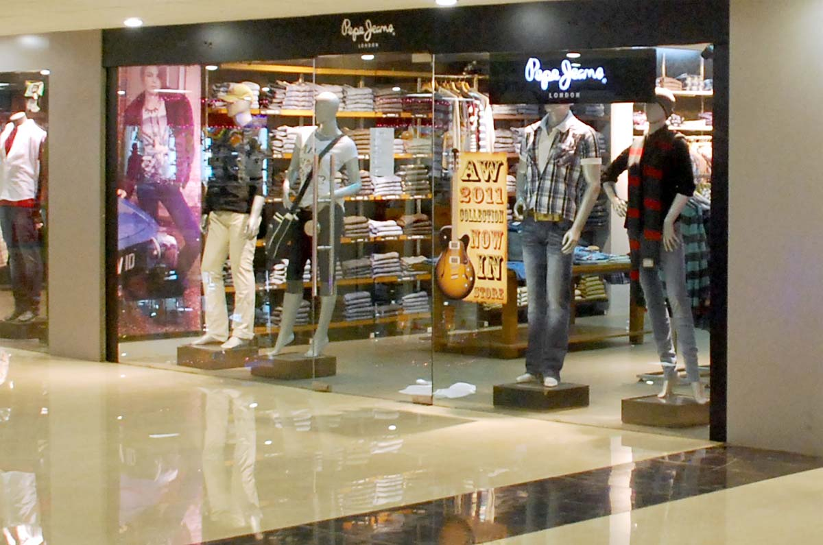 Encantador pepe jeans showroom friso ideas de dise o de interiores - Pepe jeans showroom ...